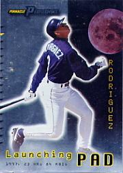 1998 Pinnacle Performers Launching Pad #19 Alex Rodriguez