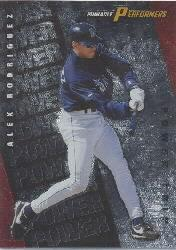 1998 Pinnacle Performers Power Trip #2 Alex Rodriguez