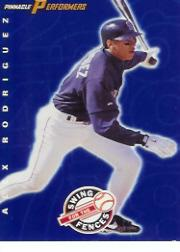 1998 Pinnacle Performers Swing for the Fences #20 Alex Rodriguez