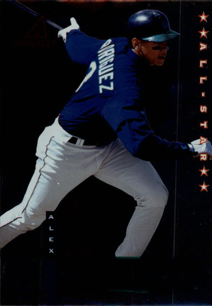 1998 Pinnacle Plus #25 Alex Rodriguez