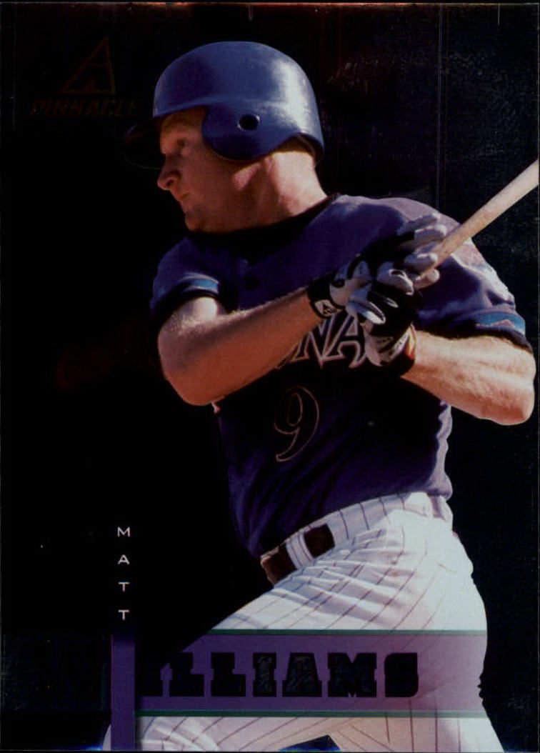 1998 Pinnacle Plus #149 Matt Williams