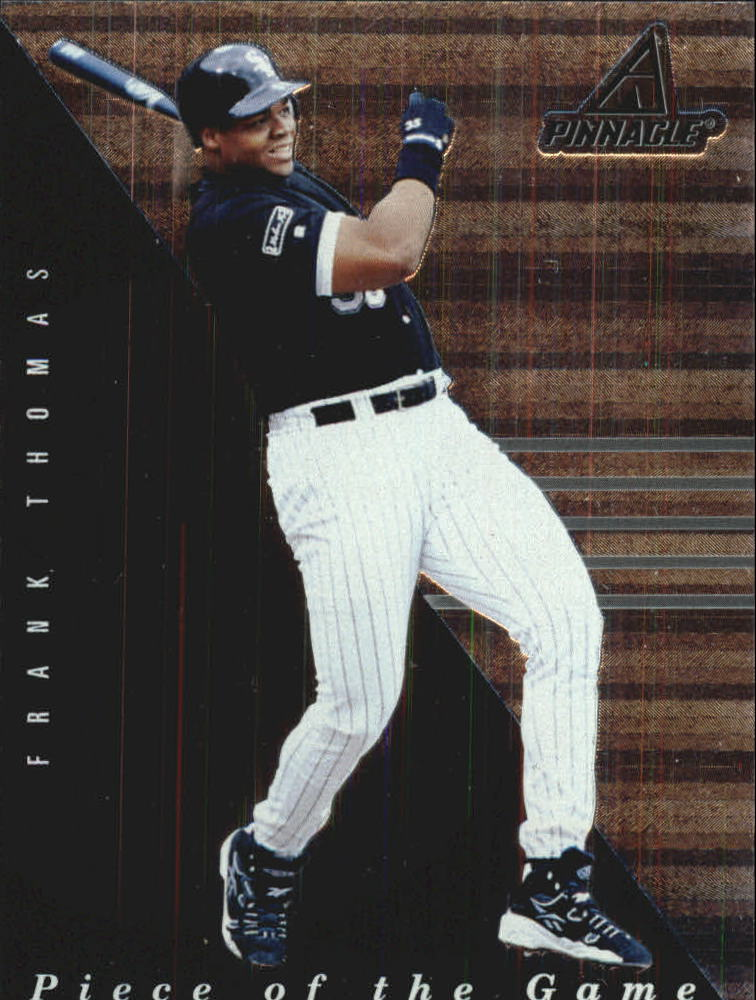 1998 Pinnacle Plus Piece of the Game #2 Frank Thomas
