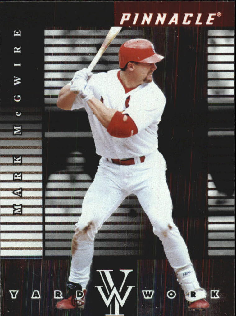 1998 Pinnacle Plus Yardwork #14 Mark McGwire
