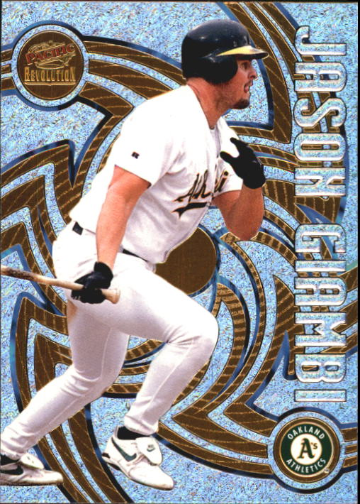 1998 Revolution #105 Jason Giambi