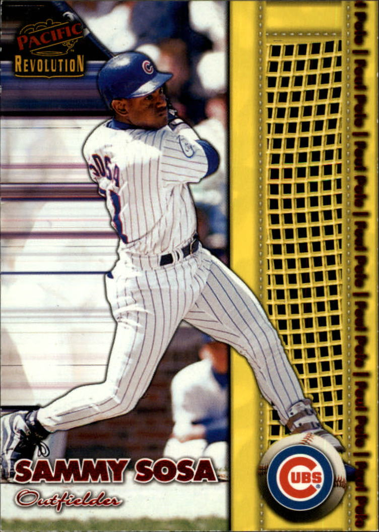 1998 Revolution Foul Pole #14 Sammy Sosa