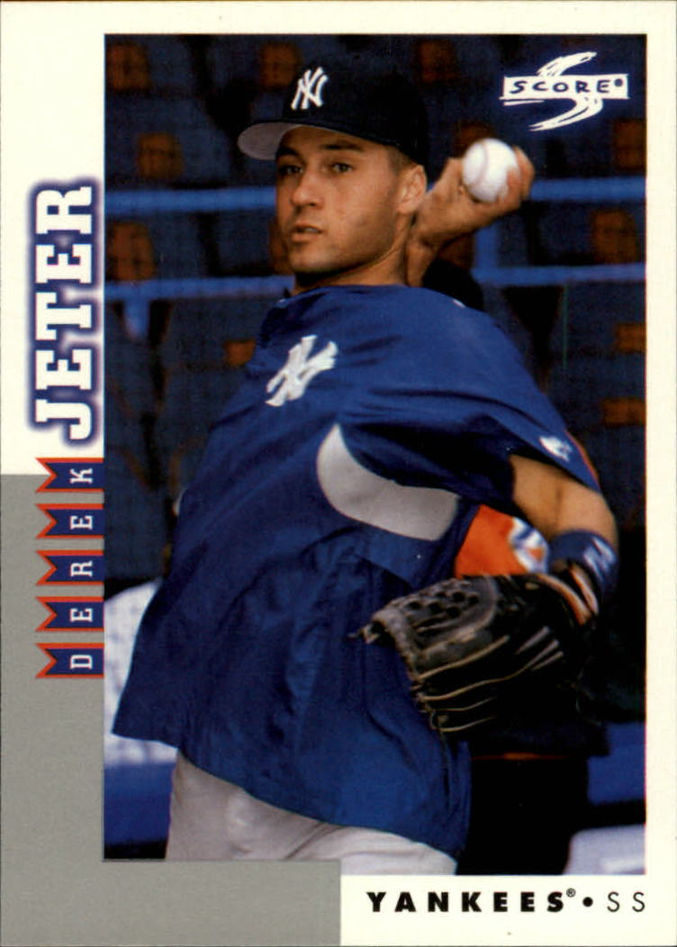 1998 Score Rookie Traded #6 Derek Jeter