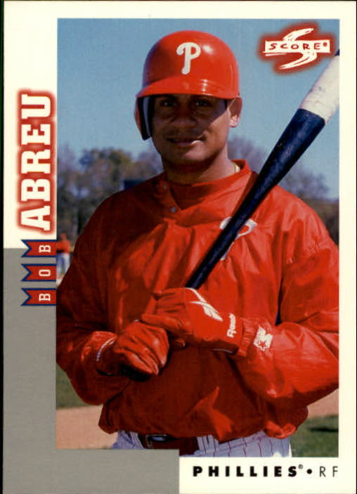 1998 Score Rookie Traded #132 Bob Abreu
