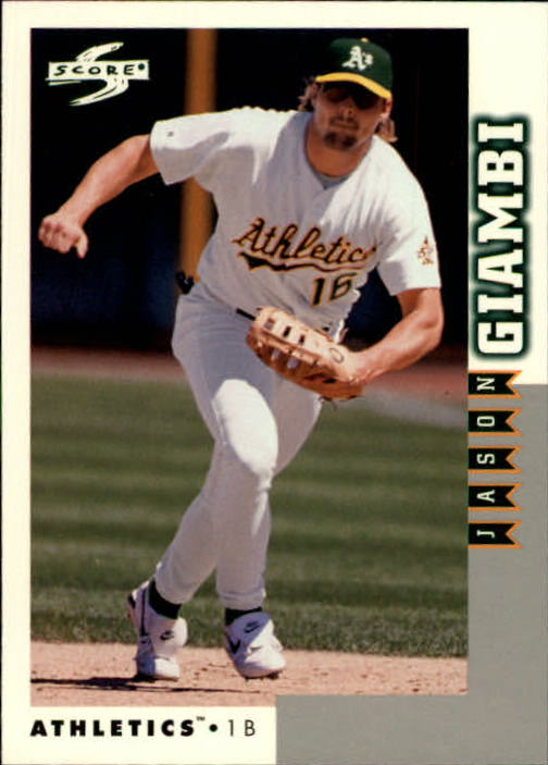1998 Score Rookie Traded #135 Jason Giambi