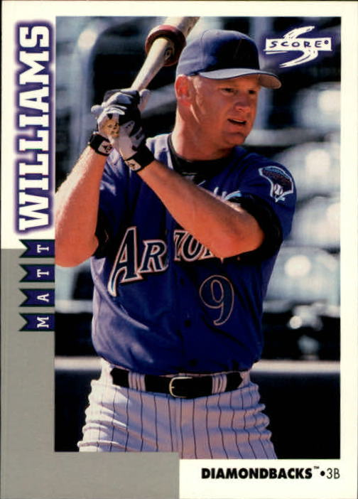 1998 Score Rookie Traded #165 Matt Williams