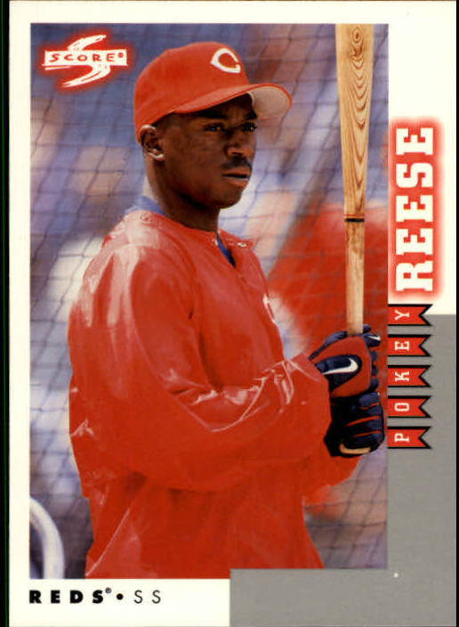1998 Score Rookie Traded #196 Pokey Reese