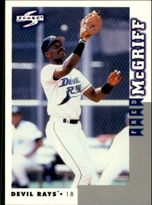 1998 Score Rookie Traded #212 Fred McGriff