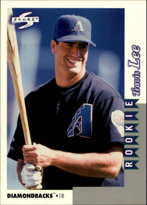 1998 Score Rookie Traded #236 Travis Lee