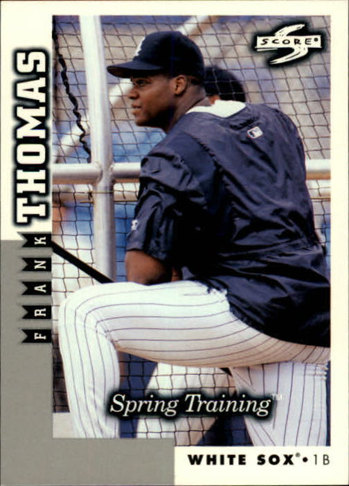 1998 Score Rookie Traded #254 Frank Thomas ST