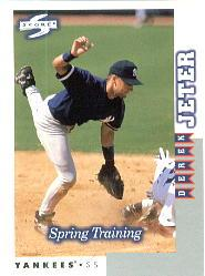 1998 Score Rookie Traded #262 Derek Jeter ST