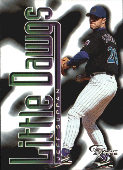 1998 SkyBox Dugout Axcess #91 Jeff Suppan