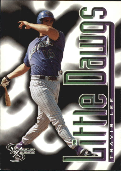 1998 SkyBox Dugout Axcess #114 Travis Lee