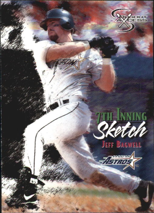 1998 SkyBox Dugout Axcess #130 Jeff Bagwell 7TH