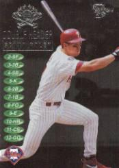 1998 SkyBox Dugout Axcess Double Header #DH16 Scott Rolen