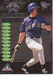 1998 SkyBox Dugout Axcess Double Header #DH19 Travis Lee