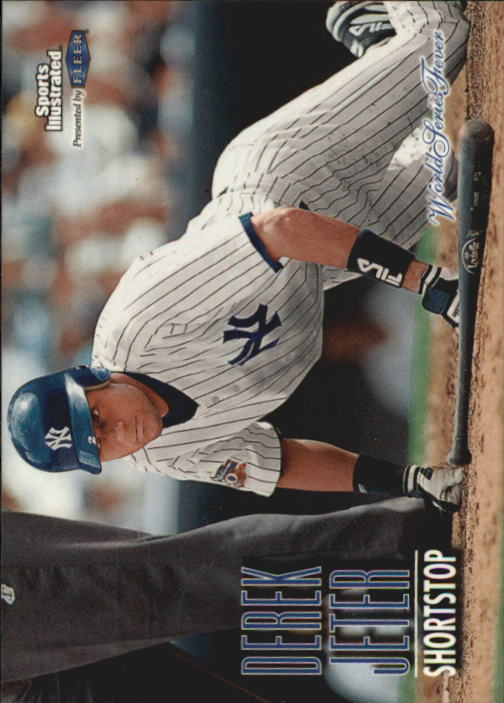 1998 Sports Illustrated World Series Fever #65 Derek Jeter