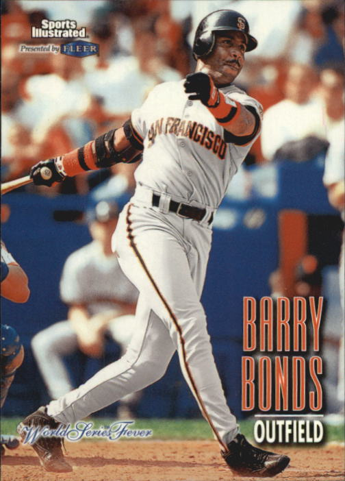 1998 Sports Illustrated World Series Fever #77 Barry Bonds