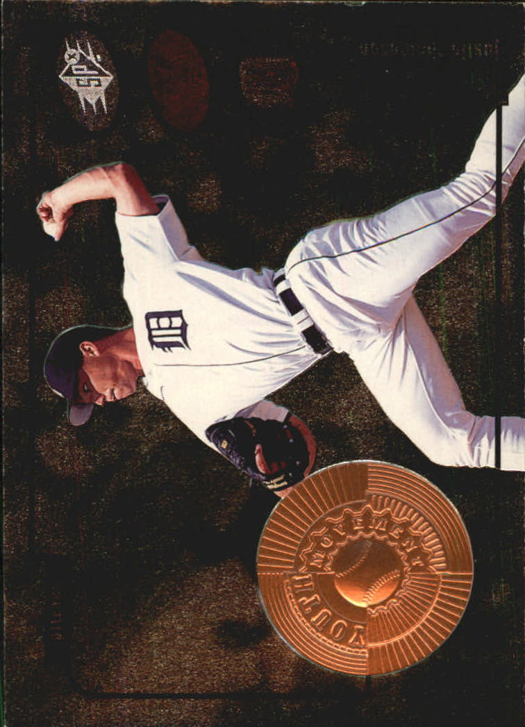 1998 SPx Finite #13 Justin Thompson YM