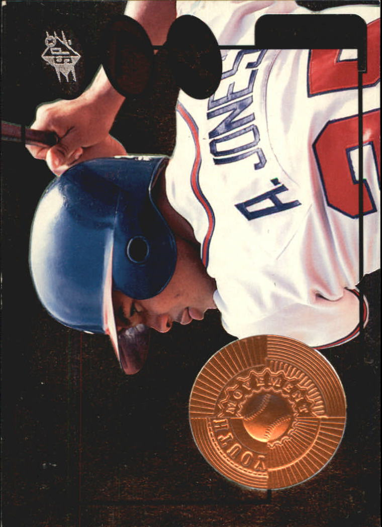 1998 SPx Finite #25 Andruw Jones YM