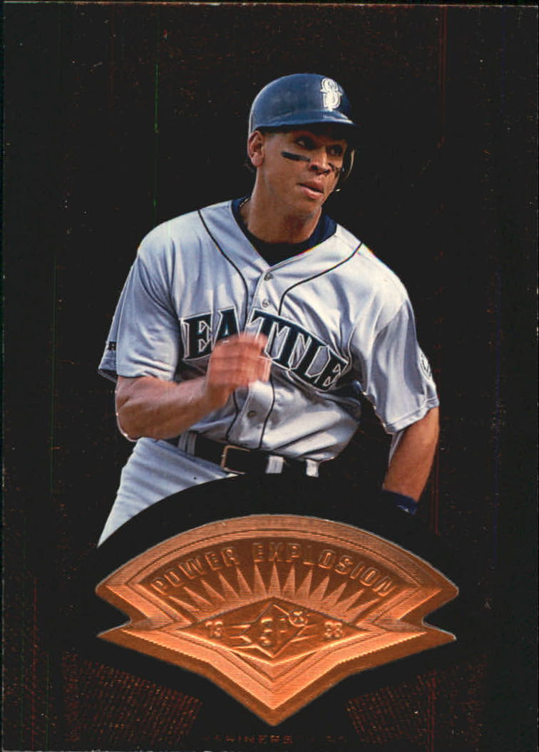 1998 SPx Finite #47 Alex Rodriguez PE