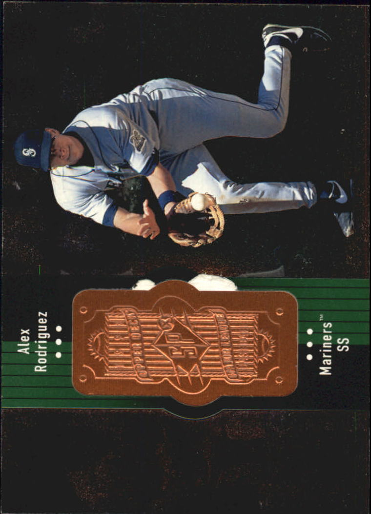 1998 SPx Finite #133 Alex Rodriguez