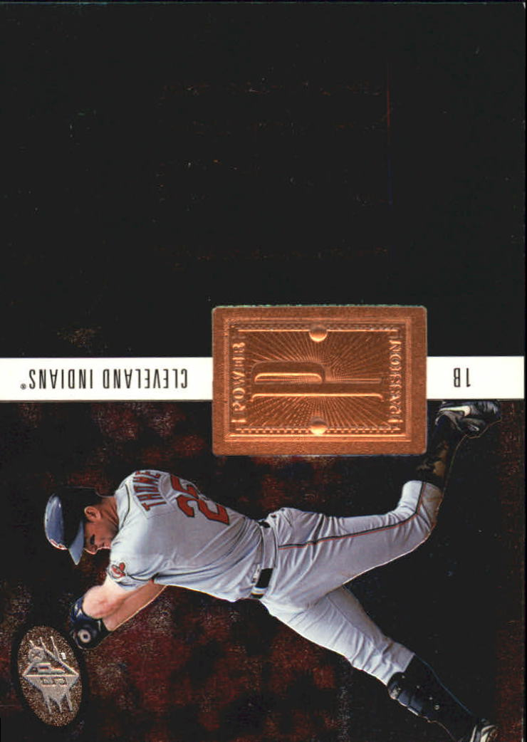 1998 SPx Finite #218 Jim Thome PP