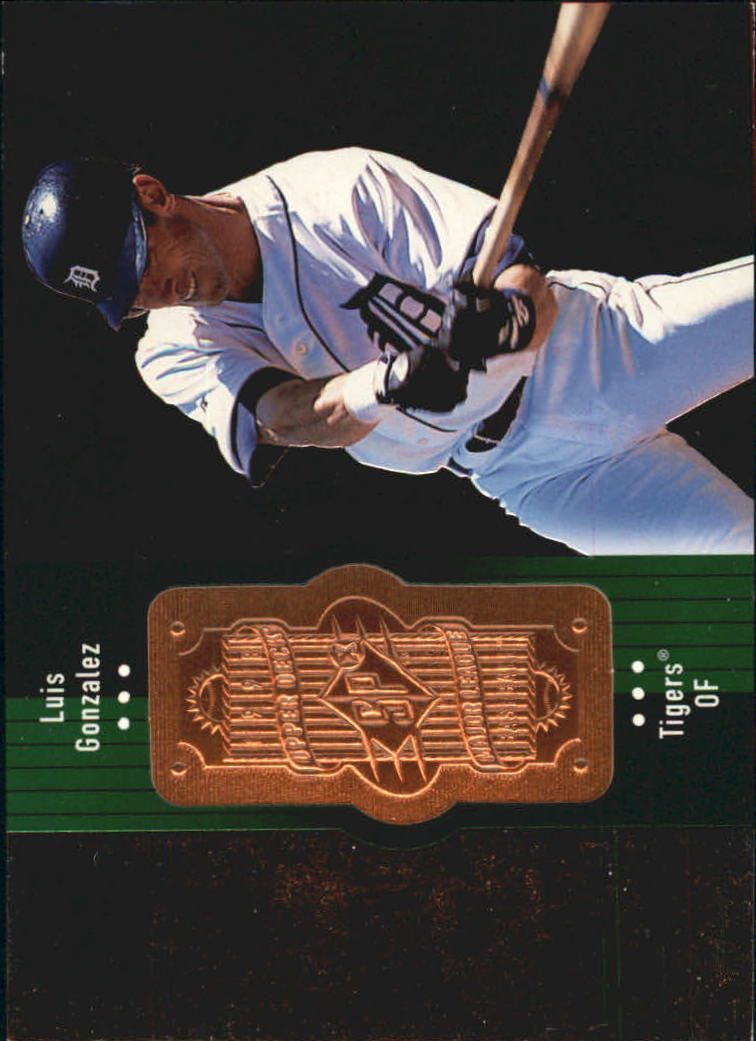 1998 SPx Finite #274 Luis Gonzalez