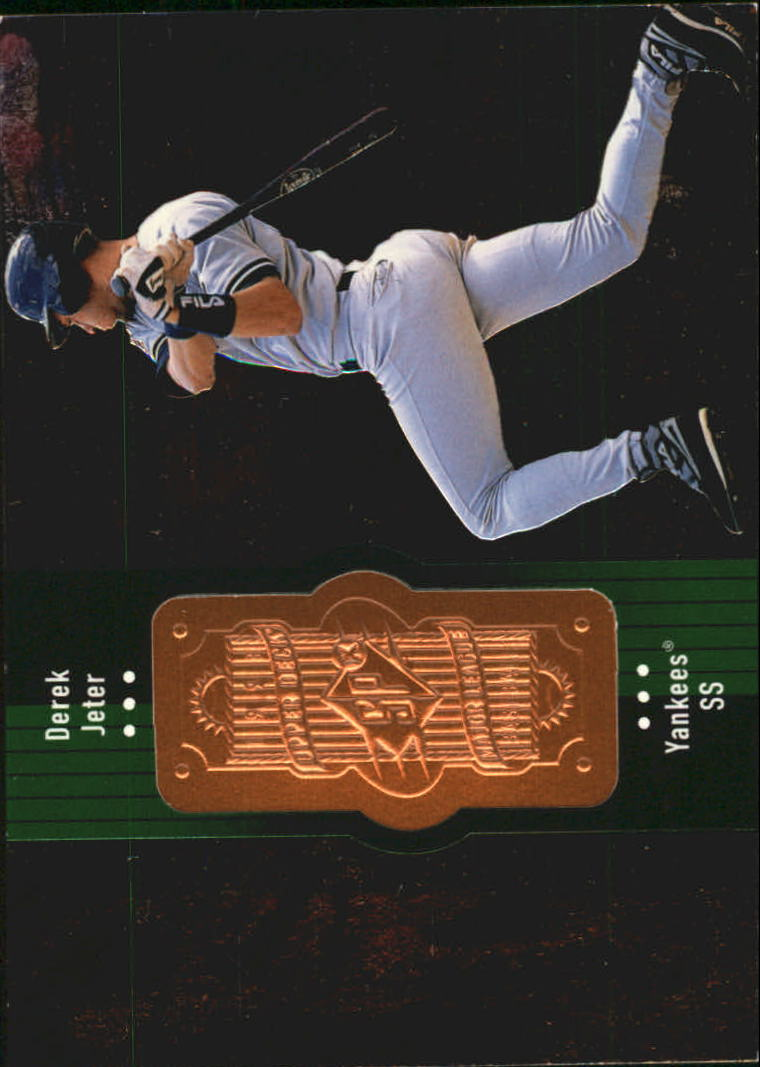 1998 SPx Finite #305 Derek Jeter