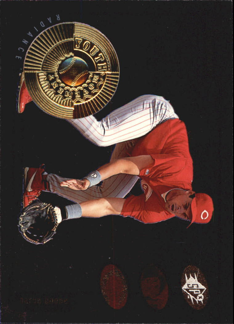 1998 SPx Finite Radiance #22 Aaron Boone YM