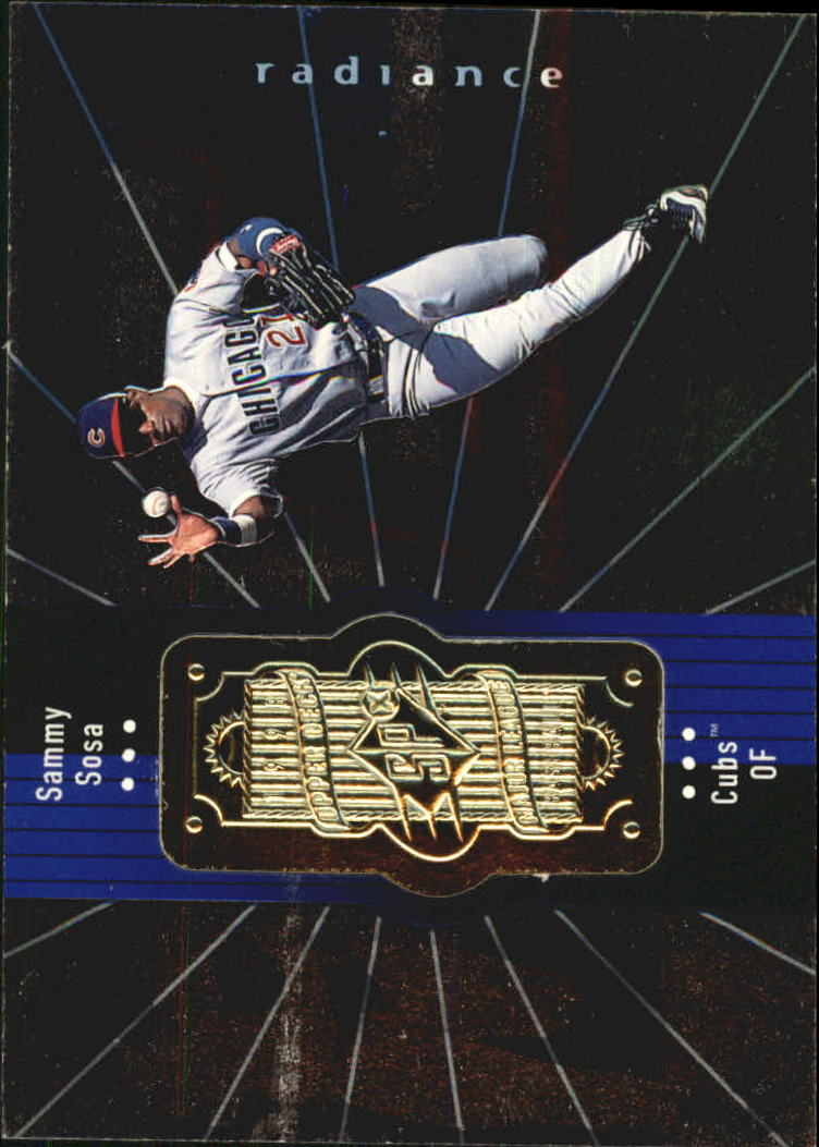 1998 SPx Finite Radiance #70 Sammy Sosa