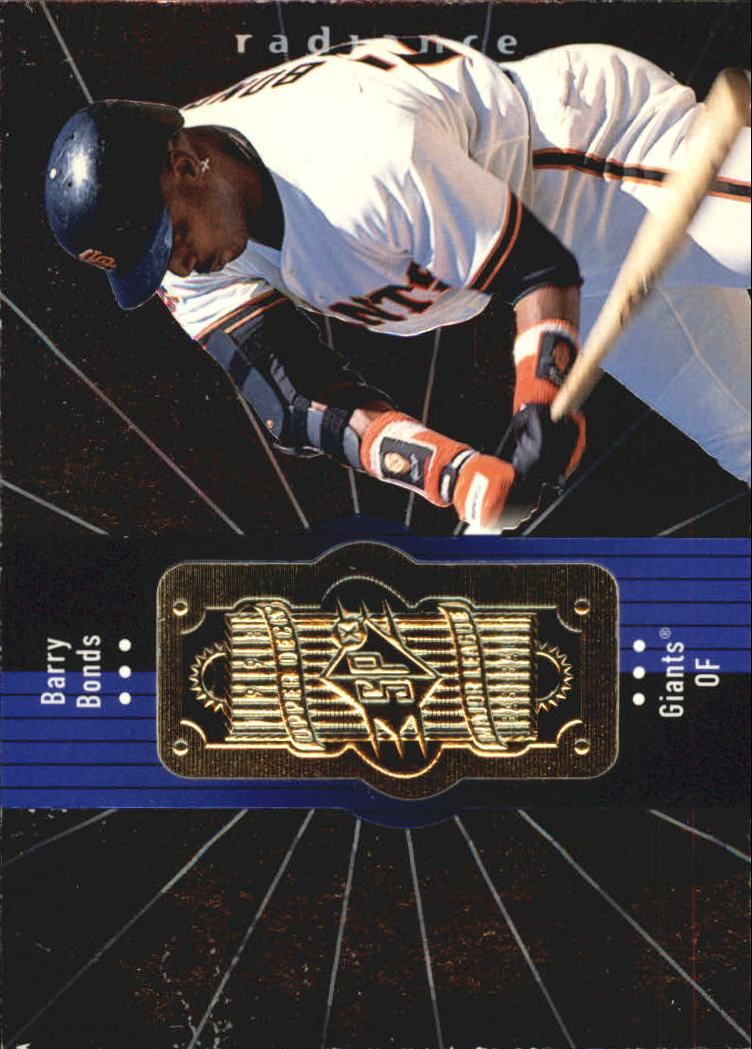 1998 SPx Finite Radiance #125 Barry Bonds