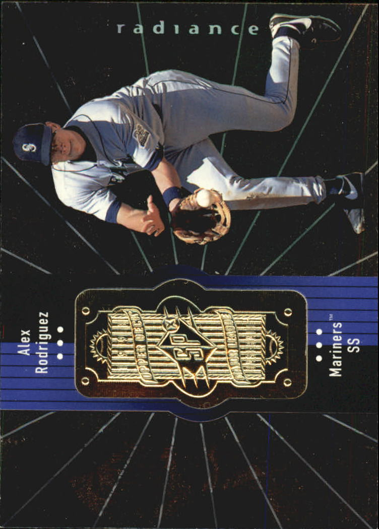 1998 SPx Finite Radiance #133 Alex Rodriguez