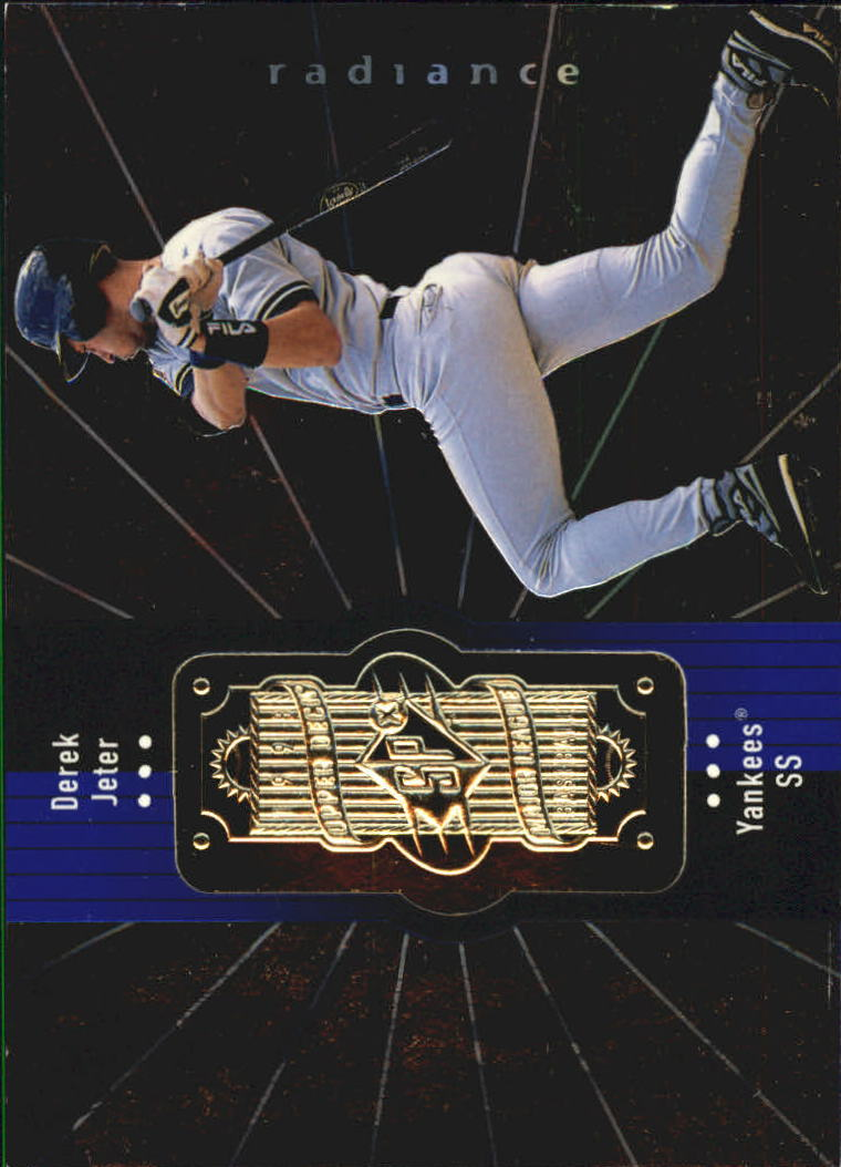 1998 SPx Finite Radiance #305 Derek Jeter