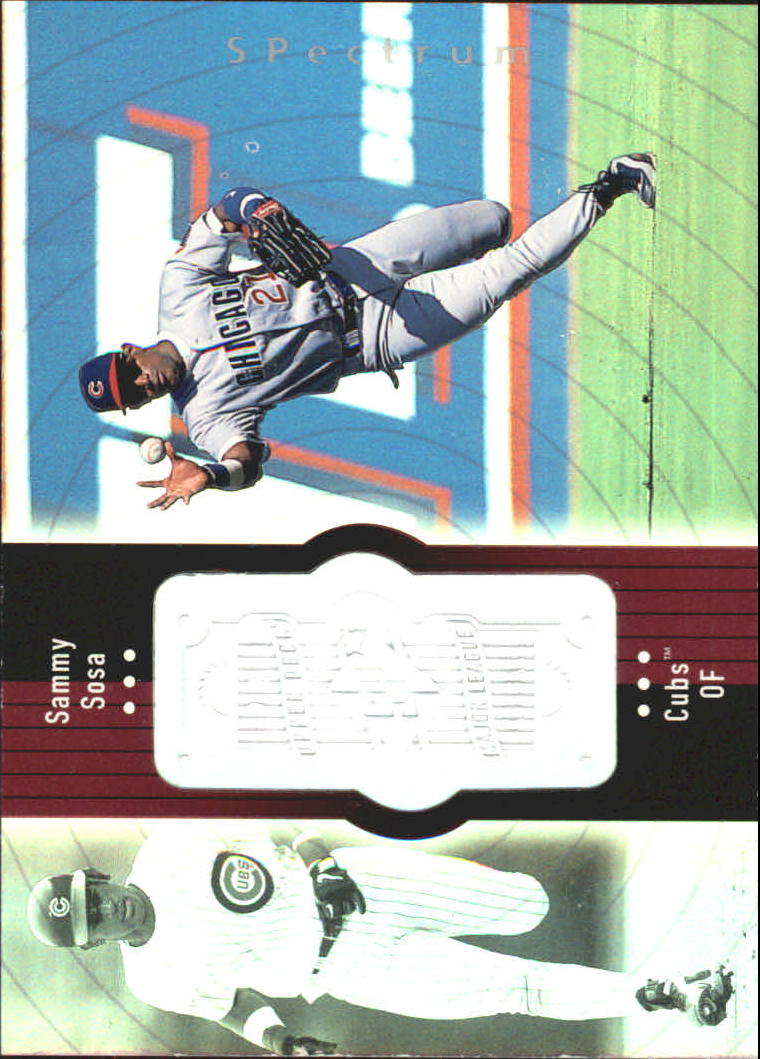 1998 SPx Finite Spectrum #70 Sammy Sosa