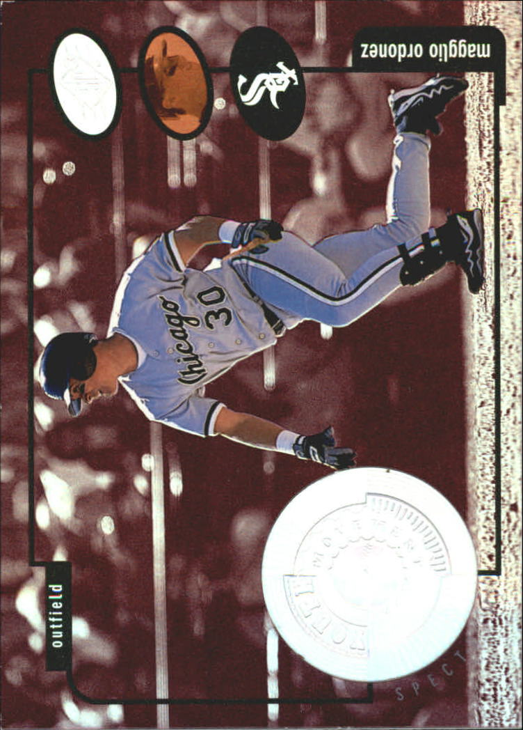 1998 SPx Finite Spectrum #203 Magglio Ordonez YM