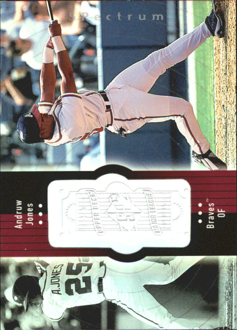 1998 SPx Finite Spectrum #249 Andruw Jones