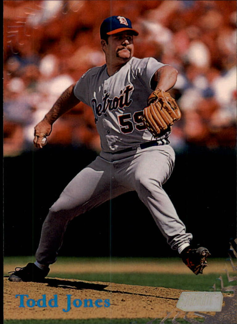 1998 Stadium Club #66 Todd Jones