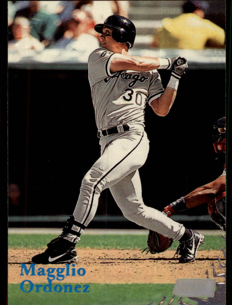 1998 Stadium Club #137 Magglio Ordonez RC