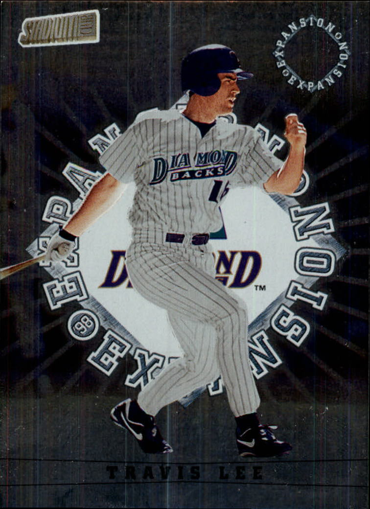 1998 Stadium Club #302 Travis Lee
