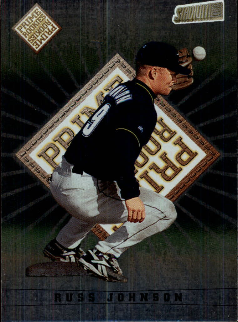 1998 Stadium Club #342 Russ Johnson