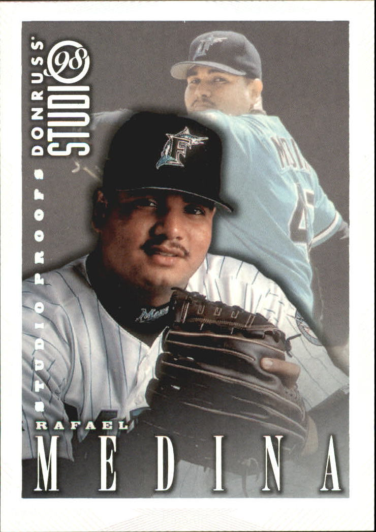 1998 Studio Silver Press Proofs #150 Rafael Medina