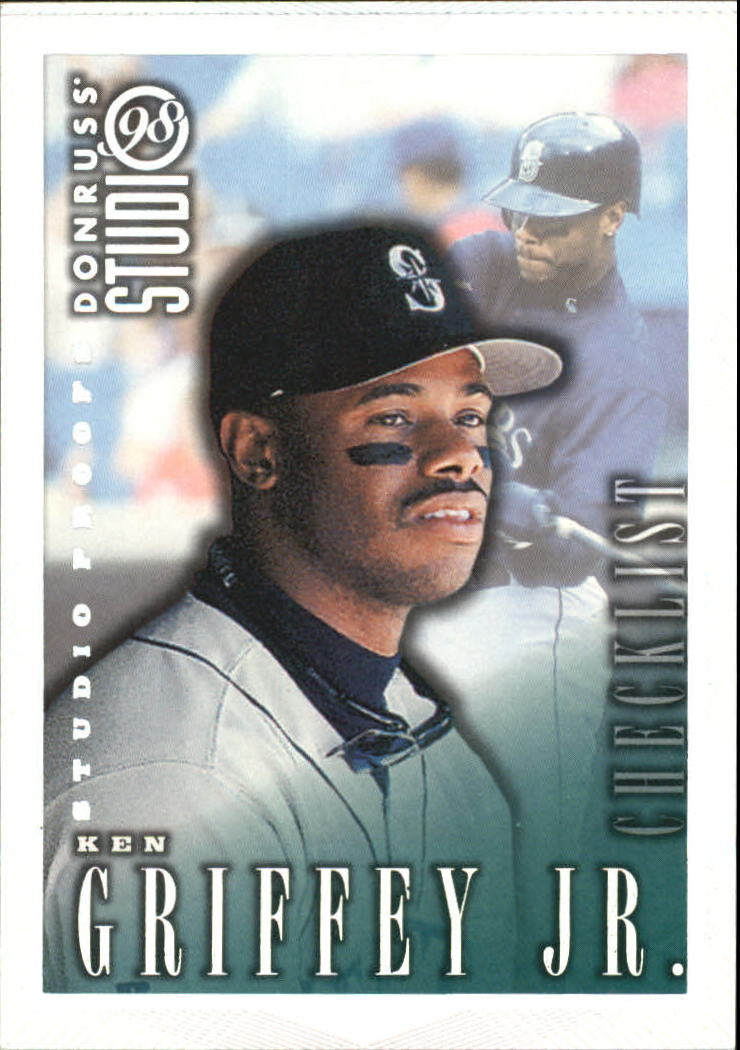1998 Studio Silver Press Proofs #CL6 Ken Griffey Jr. CL
