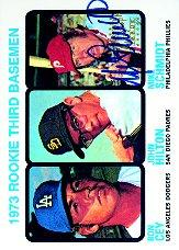 1998 Topps Stars Rookie Reprints Autographs #4 Mike Schmidt front image