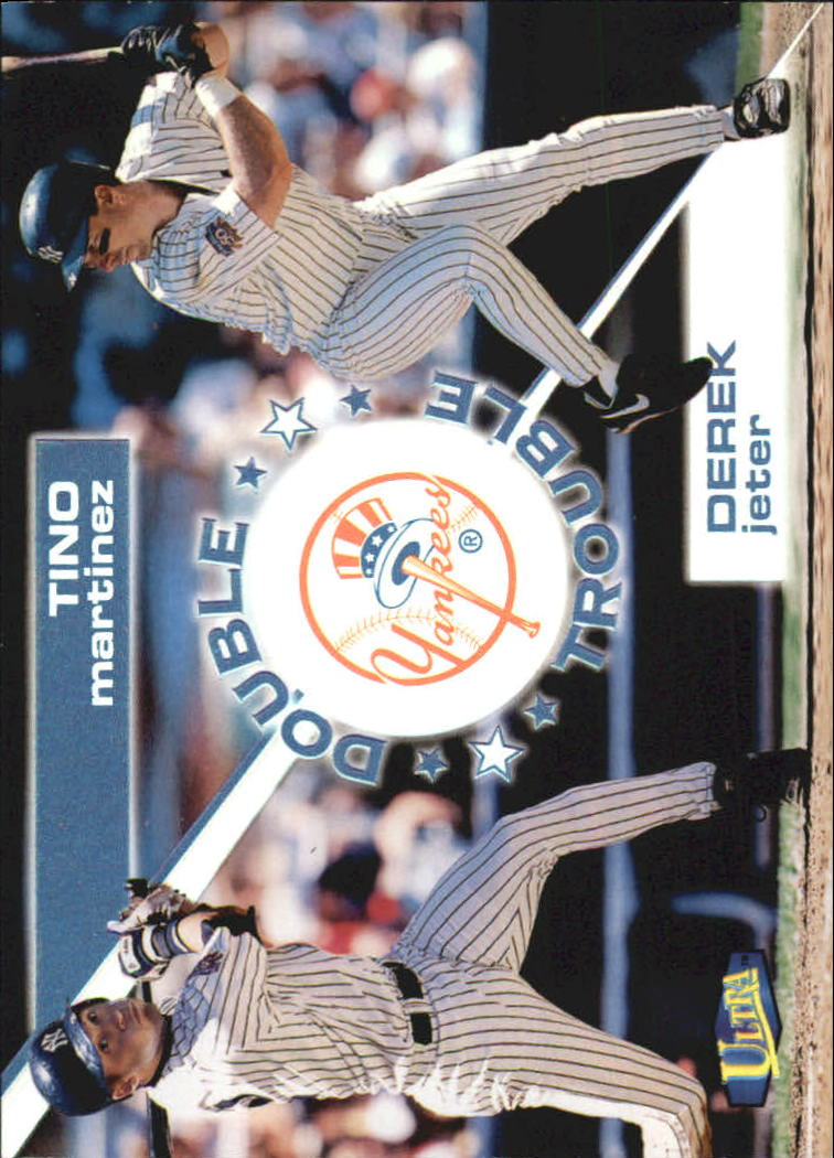1998 Ultra Double Trouble #5 D.Jeter/T.Martinez