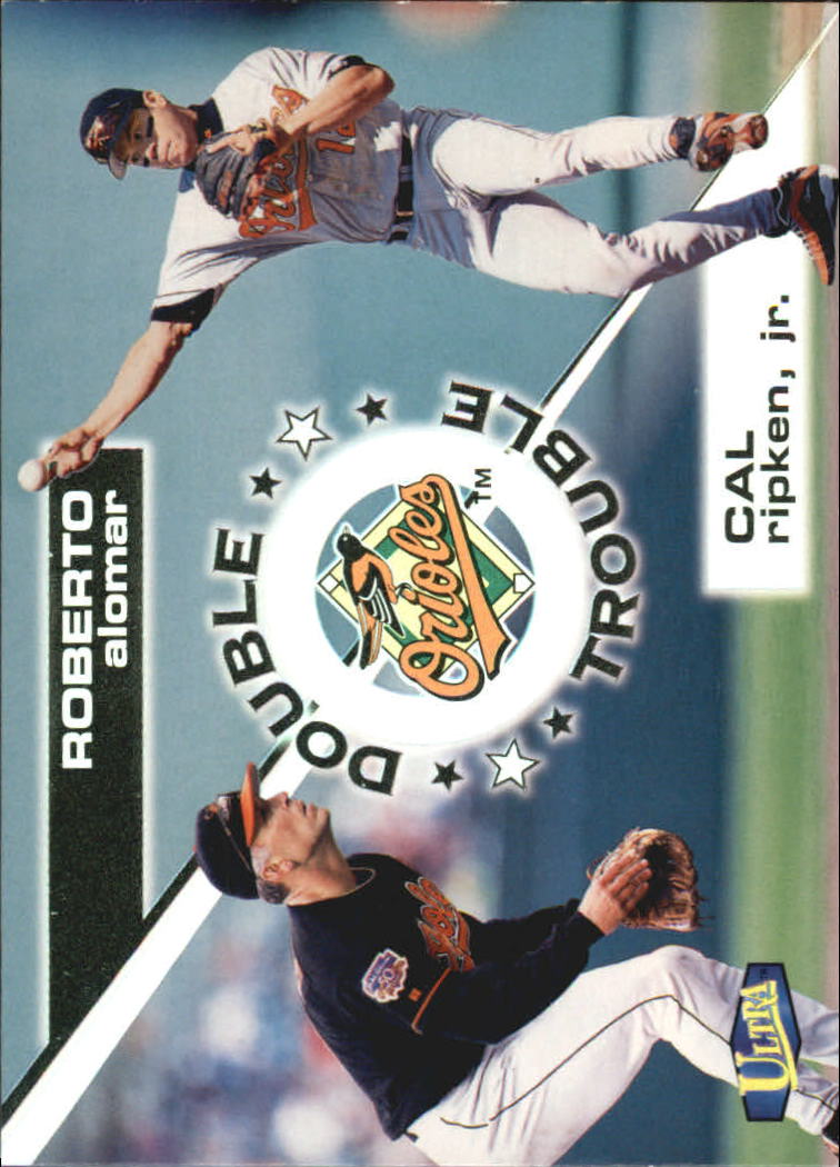 1998 Ultra Double Trouble #7 C.Ripken/R.Alomar