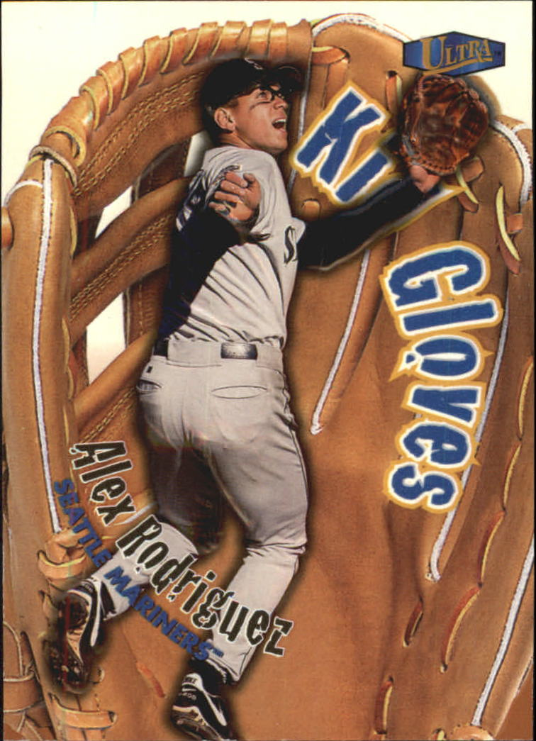 1998 Ultra Kid Gloves #2 Alex Rodriguez